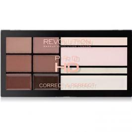 Makeup Revolution Pro HD Brows paletta a szemöldök sminkeléséhez  20,5 g