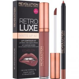 Makeup Revolution Retro Luxe matt szett ajkakra árnyalat Echelon 5,5 ml