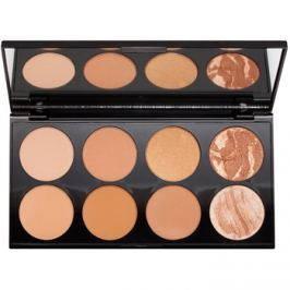 Makeup Revolution Ultra Bronze arckontúr paletta  13 g
