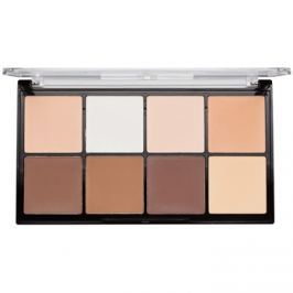 Makeup Revolution Ultra Pro HD Light Medium púder paletta az arc kontúrjaira  20 g