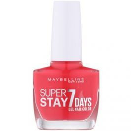 Maybelline Forever Strong Super Stay 7 Days körömlakk árnyalat 490 Hot Salsa 10 ml