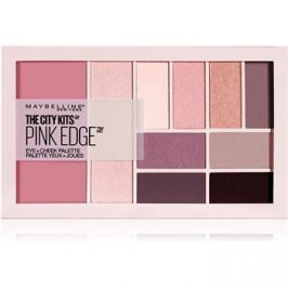 Maybelline The City Kits™ Pink Edge multifunkciós arc paletta az arcra és a szemekre  16 g