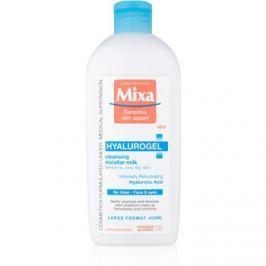 MIXA Hyalurogel tisztító arctej száraz és nagyon száraz bőrre  400 ml