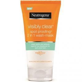 Neutrogena Visibly Clear Spot Proofing tisztító emulzió és maszk 2 az 1-ben  150 ml