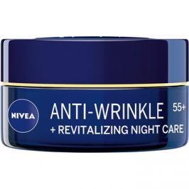 Nivea Anti-Wrinkle Revitalizing megújító éjszakai krém a ráncok ellen 55+  50 ml
