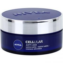 Nivea Cellular Anti-Age éjszakai fiatalító krém 40+  50 ml