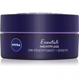 Nivea Essentials nyugtató éjszakai krém az érzékeny arcbőrre  50 ml