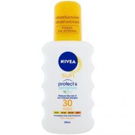 Nivea Sun Pure & Sensitive napozó spray SPF30  200 ml