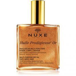 Nuxe Huile Prodigieuse OR multifunkciós csillogó olaj arcra, testre és hajra  100 ml