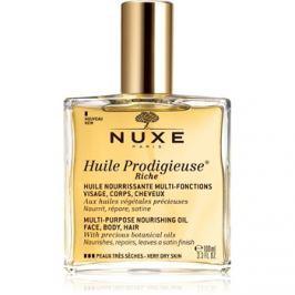 Nuxe Huile Prodigieuse Riche multifunkciós száraz olaj a nagyon száraz bőrre  100 ml