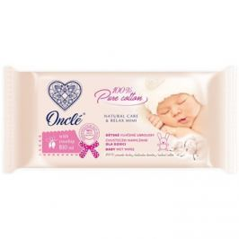 Onclé Baby nedves tisztító törlőkendők gyermekeknek születéstől kezdődően csipkebogyó olaj  54 db