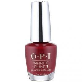 OPI Infinite Shine 2 körömlakk árnyalat Malaga Wine 15 ml