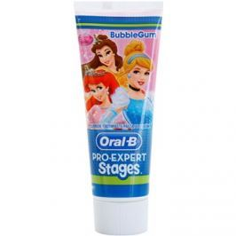 Oral B Pro-Expert Stages Princess fogkrém gyermekeknek íz Bubble Gum 75 ml