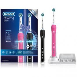Oral B Smart 4 4900 DUO D601.525.3H elektromos fogkefe + tartalék tartó