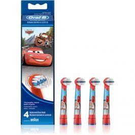 Oral B Stages Power EB10 Cars csere fejek a fogkeféhez extra soft  4 db