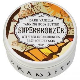 Oranjito Bio Dark Vanilla Szolárium test-vaj  100 g