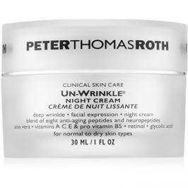 Peter Thomas Roth Un-Wrinkle ráncellenes éjszakai krém  30 ml