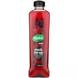 Radox Men Muscle Therapy habfürdő Black Pepper & Ginseng 500 ml