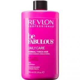 Revlon Professional Be Fabulous Daily Care balzsam normáltól dús hajig  750 ml