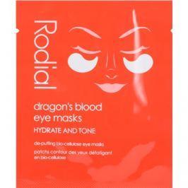 Rodial Dragon's Blood szem maszk a duzzanat és sötét karikák  8 db