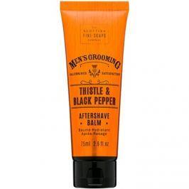 Scottish Fine Soaps Men's Grooming Thistle & Black Pepper borotválkozás utáni balzsam  75 ml
