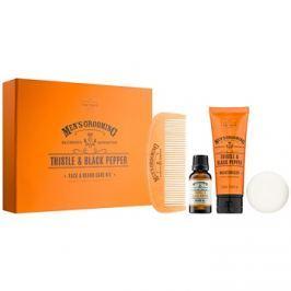 Scottish Fine Soaps Men's Grooming Thistle & Black Pepper kozmetika szett II.