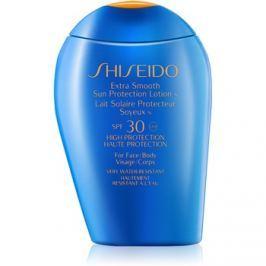 Shiseido Sun Protection naptej arca és testre SPF30  100 ml