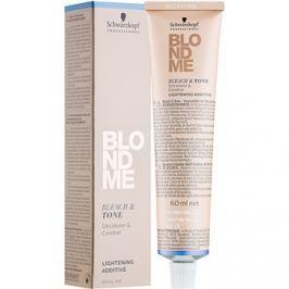 Schwarzkopf Professional Blondme hamvasító és tonizáló adalékanyag árnyalat B - Cool  60 ml