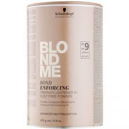 Schwarzkopf Professional Blondme prémium bőrélénkítő 9+ pormentes púder professzionális használatra  450 g