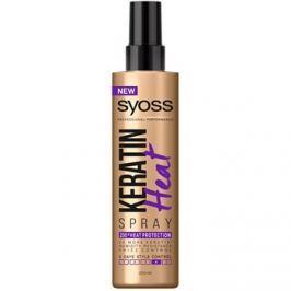 Syoss Keratin védő spray a hajformázáshoz, melyhez magas hőfokot használunk  200 ml