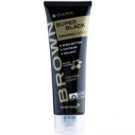 Tannymaxx Brown Super Black napozó krém szoláriumba  125 ml