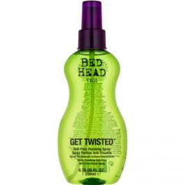 TIGI Bed Head Get Twisted fixáló finish spray töredezés ellen  200 ml