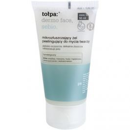 Tołpa Dermo Face Sebio tisztító gél peeling hatással  50 ml