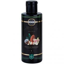 Topvet Wellness fürdő és testápoló olaj kókusz és vanília  200 ml