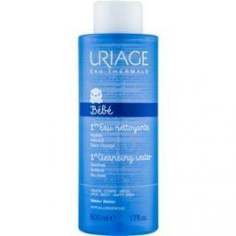 Uriage 1érs Soins Bébés gyengéden tisztító víz arcra és testre  500 ml