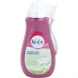 Veet Depilatory Cream Hidratáló krém Szőrtelenítő száraz bőrre  400 ml