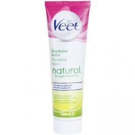 Veet Natural Inspirations szőrtelenítő krém az érzékeny bőrre  100 ml