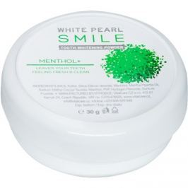 White Pearl Smile fogfehérítő púder Mentol+ 30 g