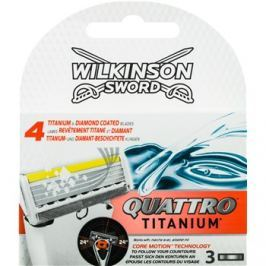 Wilkinson Sword Quattro Titanium tartalék pengék 3 db