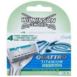 Wilkinson Sword Quattro Titanium Sensitive tartalék pengék  4 db
