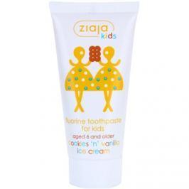Ziaja Kids Cookies 'n' Vanilla Ice Cream fogkrém gyermekeknek  50 ml
