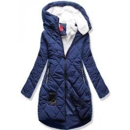 Női téli kabát kapucnival S505 kék