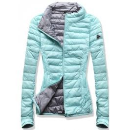 Női steppelt kabát B1010 zöld