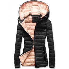 Női steppelt kabát 7213 fekete
