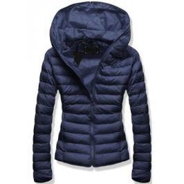 Női steppelt kabát 7169 sötétkék