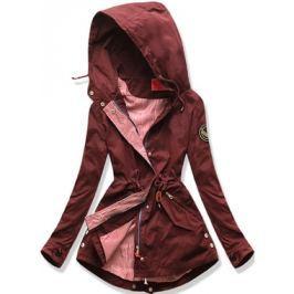 Női átmeneti kabát Q27 bordó