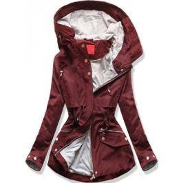 Női átmeneti kabát Q24 bordó