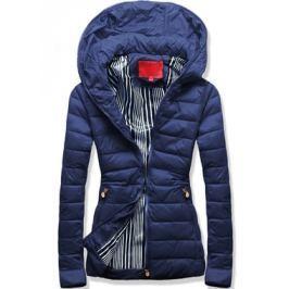 Női steppelt kabát P06A kék