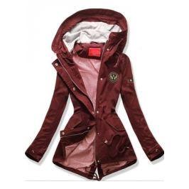 Női átmeneti kabát Q13 bordó