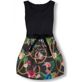 Elegáns női ruha 2634 fekete